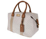 White Brown TRAVEL Weekendbag - Women - Bags - Michael Kors | Gethuda Fashion
