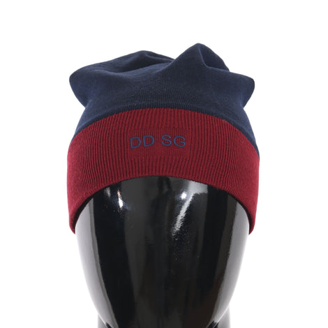 Dolce & Gabbana Beanie Wool Blue Bordeaux DD SG Warm Hat - Men - Accessories - Hats - Dolce & Gabbana | Gethuda Fashion