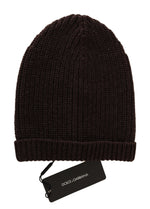 Dolce & Gabbana Gray Beanie Wool Knitted Warm Hat - Men - Accessories - Hats - Dolce & Gabbana | Gethuda Fashion