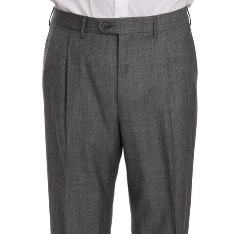 Ermenegildo Zegna Gray two Piece 3 Button Wool suit