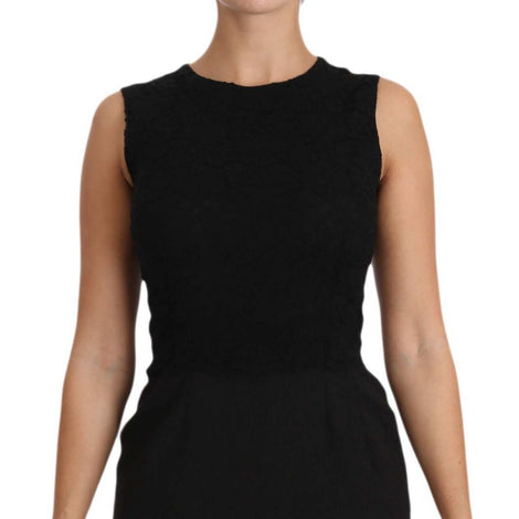 Dolce & Gabbana Black Stretch Sheath Bodycon Mini Dress - Women - Apparel - Dresses - Casual - Dolce & Gabbana | Gethuda Fashion
