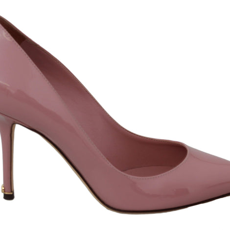 Dolce & Gabbana Pink Patent Leather Pumps Heels - Women - Shoes - Pumps - Dolce & Gabbana | Gethuda Fashion