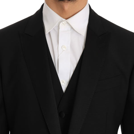 Dolce & Gabbana Black Martini Slim Fit Smoking Tuxedo Suit