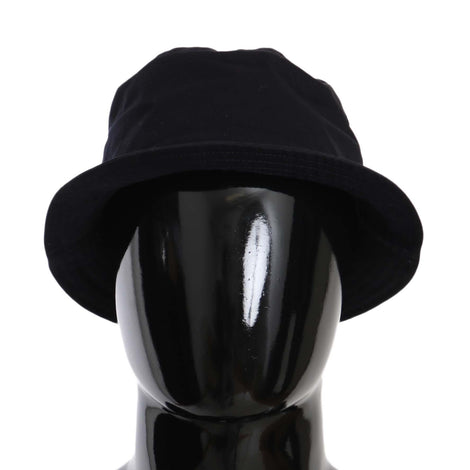 Dolce & Gabbana Blue Plain Solid Cotton Fedora Trilby Hat - Men - Accessories - Hats - Dolce & Gabbana | Gethuda Fashion