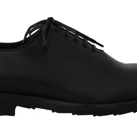 Dolce & Gabbana Black Formal Leather Laceups Dress  Mens Shoes - Men - Shoes - Oxfords - Dolce & Gabbana | Gethuda Fashion