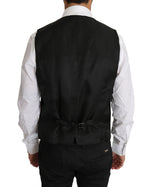 Dolce & Gabbana Blazer Vest 2 Piece Black Wool MARTINI - Men - Apparel - Outerwear - Blazers - Dolce & Gabbana | Gethuda Fashion
