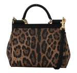 Dolce & Gabbana Brown MISS SICILY Leopard Print Hand Shoulder Purse - Women - Bags - Dolce & Gabbana | Gethuda Fashion