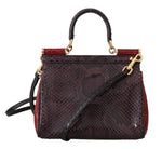 Dolce & Gabbana MISS SICILY Crocodile Snakeskin Alligator Shoulder Purse - Women - Bags - Dolce & Gabbana | Gethuda Fashion