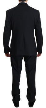 Dolce & Gabbana Blue MARTINI Wool Jacket Slim Fit Suit - Men - Apparel - Suits - Classic - Dolce & Gabbana | Gethuda Fashion