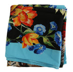 Dolce & Gabbana Multicolor Leopard Floral Silk Square Scarf - Women - Accessories - Scarves - Dolce & Gabbana | Gethuda Fashion