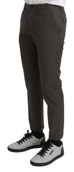 Brown Casual Mens Trouser 100% Cotton Pants