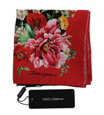 Dolce & Gabbana Lion Multicolor Square Silk Wrap Floral Scarf - Women - Accessories - Scarves - Dolce & Gabbana | Gethuda Fashion