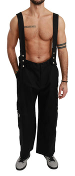 Black Jumper Casual Trouser Cotton Pants