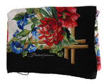Dolce & Gabbana Multicolor Square Silk Tiger Floral Scarf - Women - Accessories - Scarves - Dolce & Gabbana | Gethuda Fashion