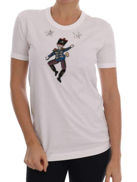 White Cotton Fairy Tale T-Shirt