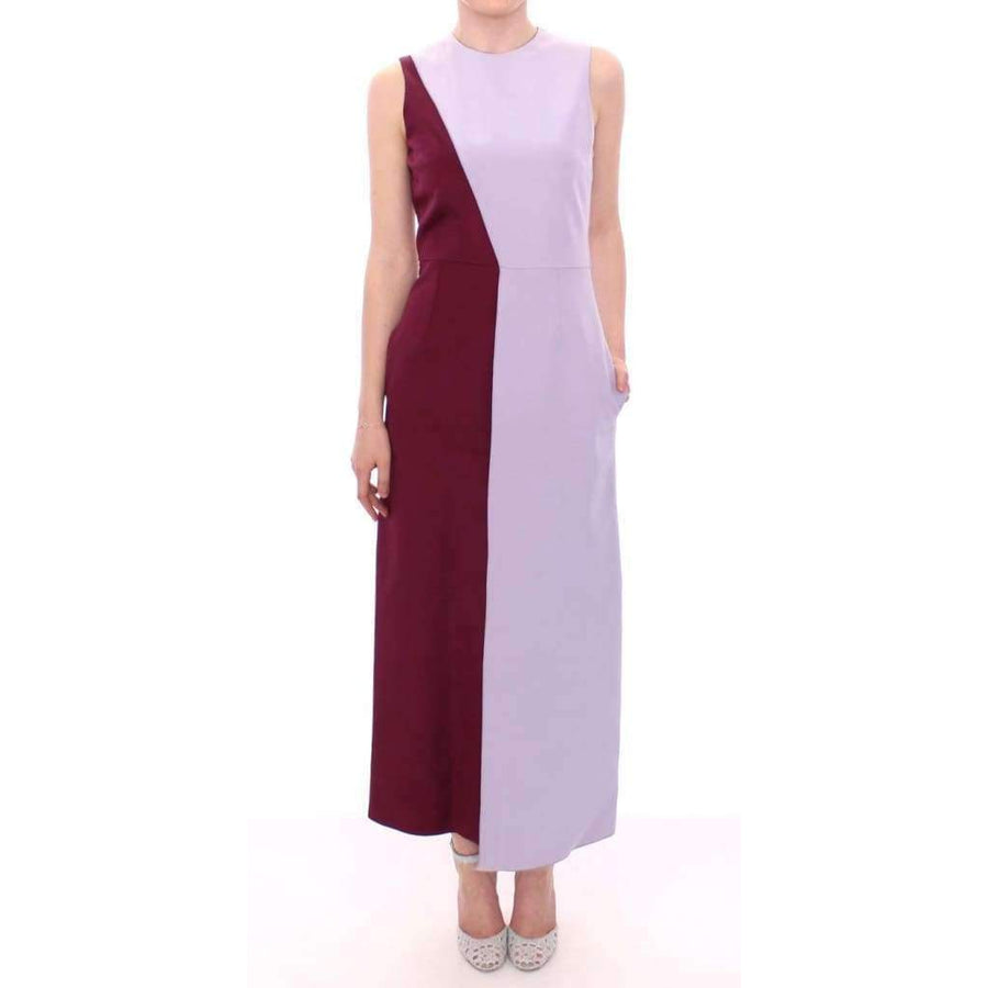 Purple Lavender Gown Maxi Silk Long Dress - Women - Apparel - Dresses - Casual - Barbara Casasola | Gethuda Fashion