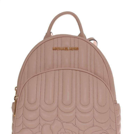 Beige ABBEY Leather Backpack - Women - Bags - Michael Kors | Gethuda Fashion