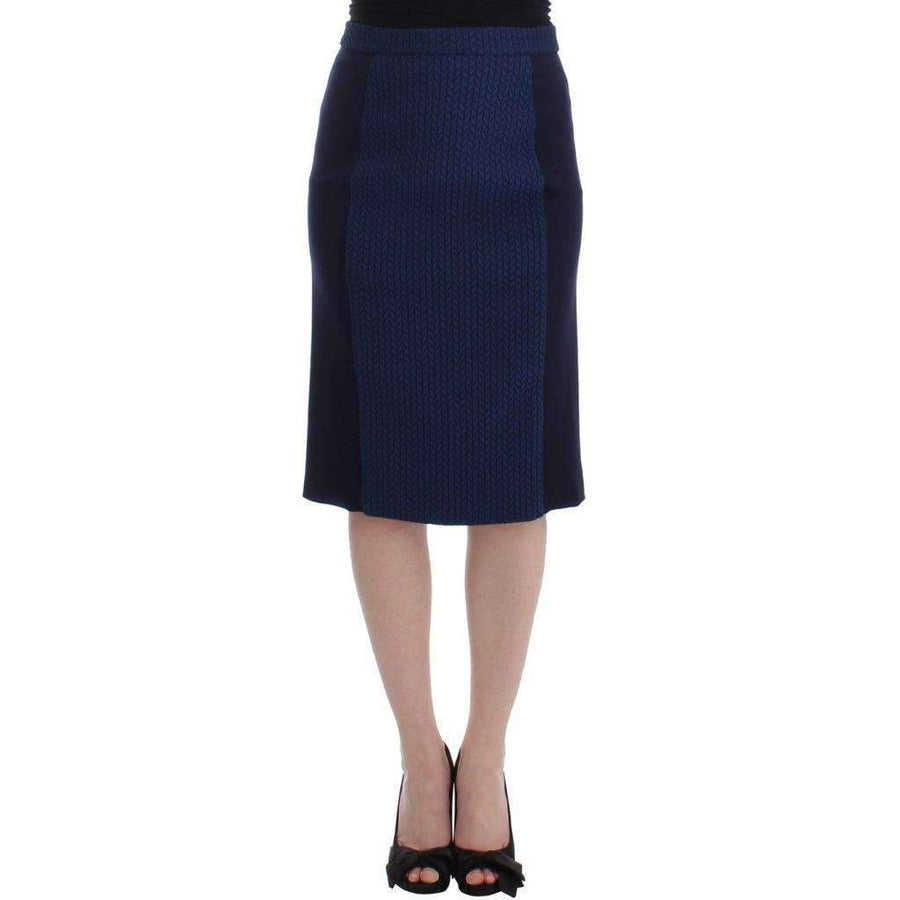 Blue pencil skirt - Women - Apparel - Skirts - Pencil - House of Holland | Gethuda Fashion