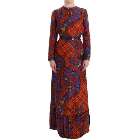 Multicolor Long Sleeved Floral Dress - Women - Apparel - Dresses - Casual - Caterina Gatta | Gethuda Fashion