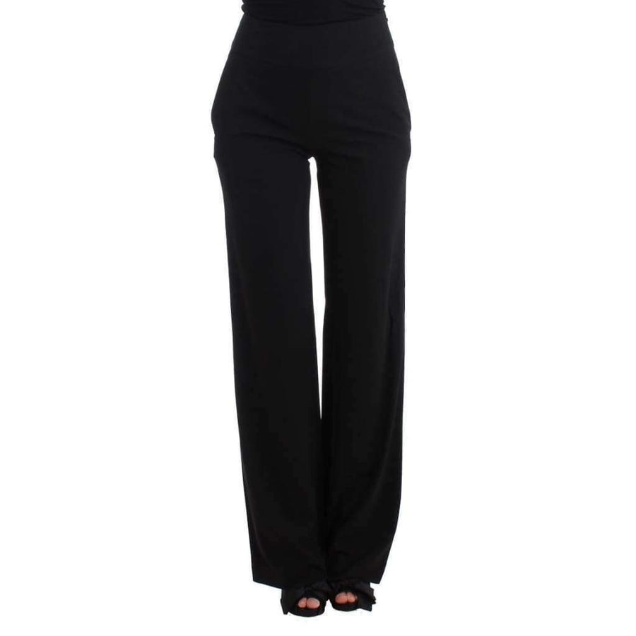 Black dress pants - Women - Apparel - Pants - Trousers - Cavalli | Gethuda Fashion