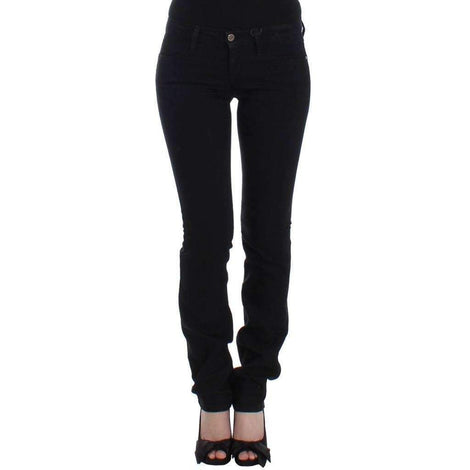Black straight leg jeans - Women - Apparel - Denim - Jeans - Costume National | Gethuda Fashion