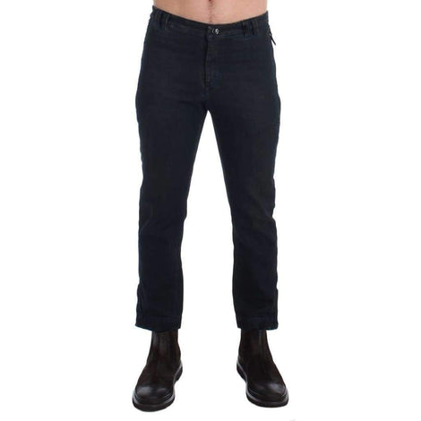 Blue Cotton Slim Pants Denim Jeans - Men - Apparel - Trousers - Costume National | Gethuda Fashion
