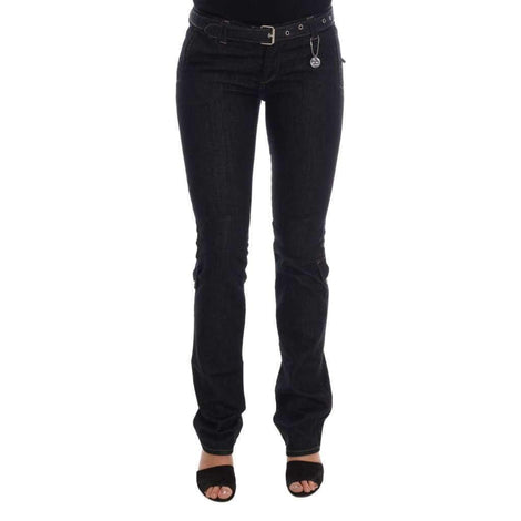 Blue Cotton Stretch Slim Fit Jeans - Women - Apparel - Denim - Jeans - Costume National | Gethuda Fashion
