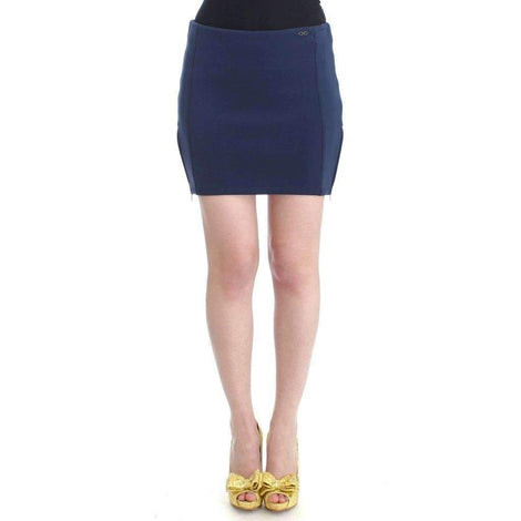 Blue nylon mini skirt - Women - Apparel - Skirts - Knee Length - Costume National | Gethuda Fashion