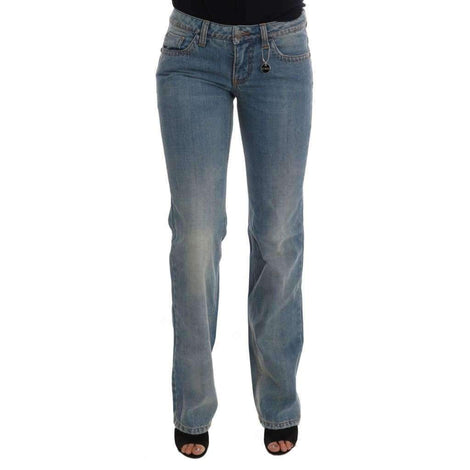 Blue Wash Cotton Classic Jeans - Women - Apparel - Denim - Jeans - Costume National | Gethuda Fashion