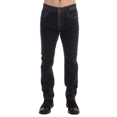 Gray Wash Regular Cotton Denim Jeans - Men - Apparel - Denim - Jeans - Costume National | Gethuda Fashion