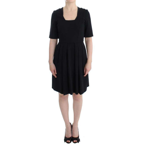 CO|TE Black short sleeve venus dress - Women - Apparel - Dresses - Casual - CO|TE | Gethuda Fashion