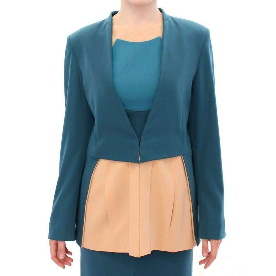 CO|TE Blue stretch blazer jacket - Women - Apparel - Suits - Classic - CO|TE | Gethuda Fashion