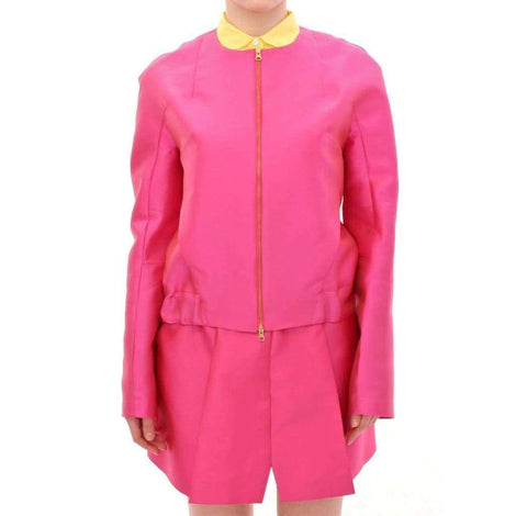 CO|TE Pink silk blend jacket - Women - Apparel - Outerwear - Jackets - CO|TE | Gethuda Fashion