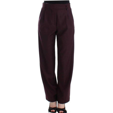 CO|TE Purple wide Leg wool pants