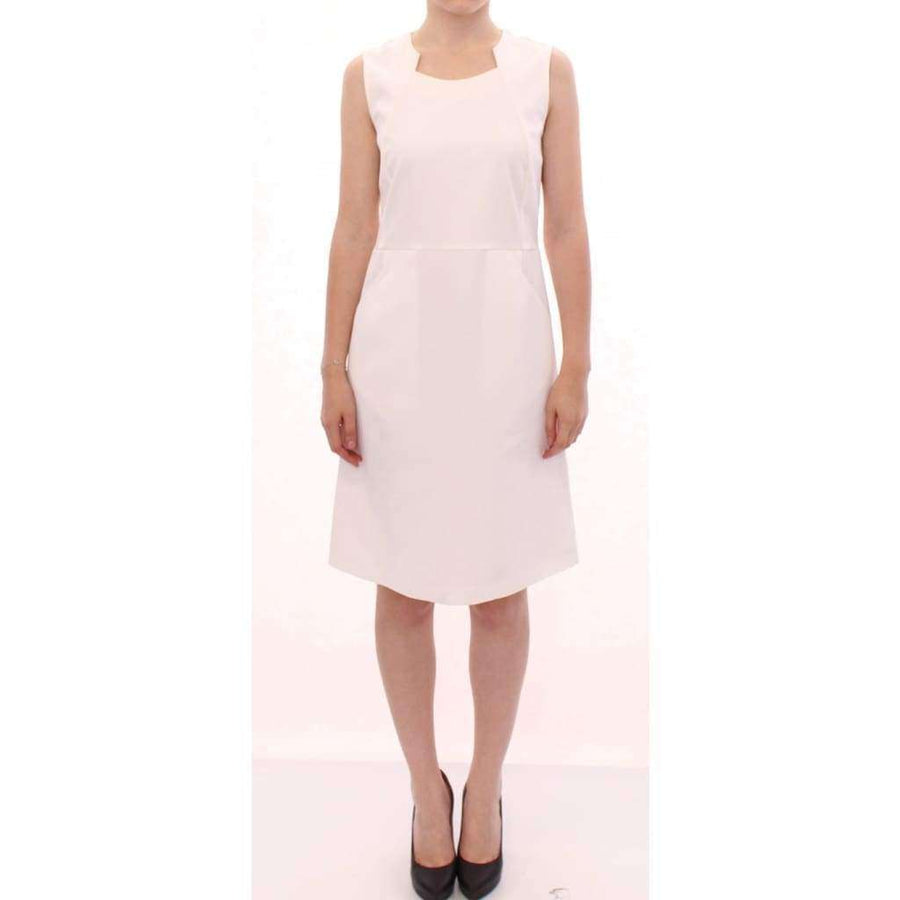 CO|TE White cotton sheath dress - Women - Apparel - Dresses - Casual - CO|TE | Gethuda Fashion