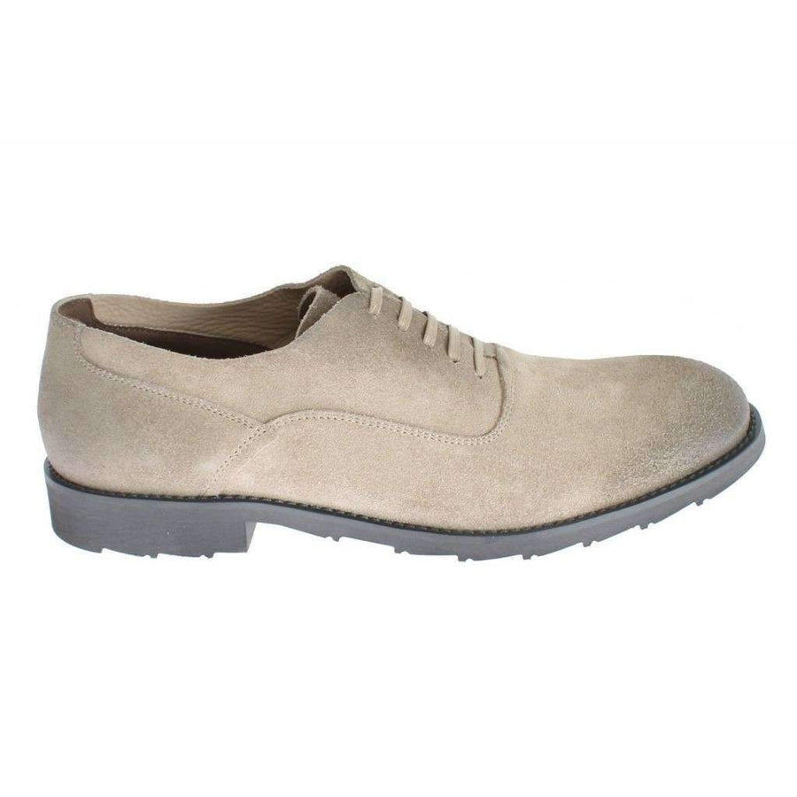 Dolce & Gabbana Beige Suede Leather Formal Dress Shoes - Men - Shoes - Oxfords - Dolce & Gabbana | Gethuda Fashion
