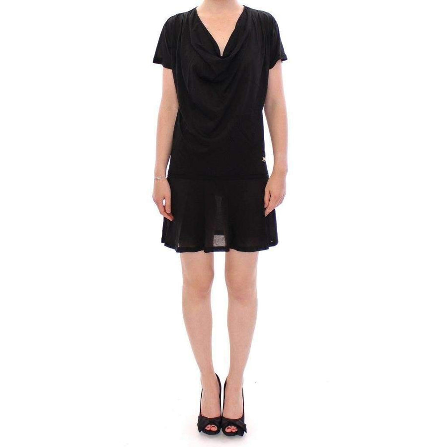 Dolce & Gabbana Black cotton semi transparent dress - Women - Apparel - Dresses - Casual - Dolce & Gabbana | Gethuda Fashion