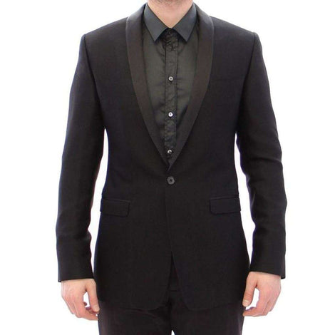 Dolce & Gabbana Black GOLD slim smoking blazer - Men - Apparel - Outerwear - Blazers - Dolce & Gabbana | Gethuda Fashion