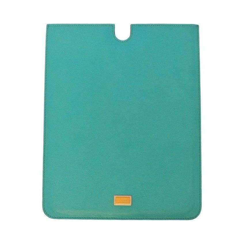 Dolce & Gabbana Blue Leather iPAD Tablet eBook Cover