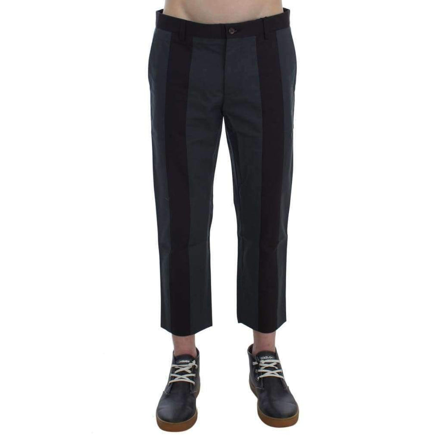Dolce & Gabbana Gray Brown 3/4 Length Pants - Men - Apparel - Trousers - Dolce & Gabbana | Gethuda Fashion