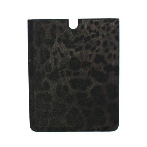 Dolce & Gabbana Leopard Leather iPAD Tablet eBook Cover Bag - Tech Accessories - Tablet Covers - Dolce & Gabbana | Gethuda Fashion