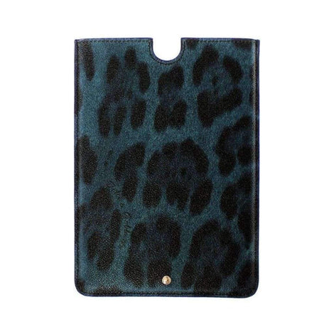 Dolce & Gabbana Leopard Leather iPAD Tablet eBook Cover