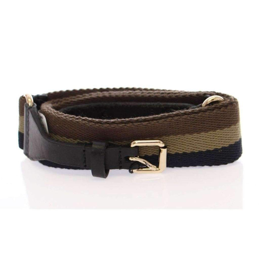Dolce & Gabbana Multicolor Leather Logo Belt - Women - Accessories - Belts - Dolce & Gabbana | Gethuda Fashion