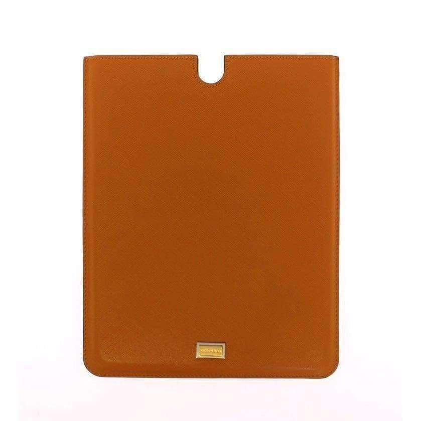 Dolce & Gabbana Orange Leather iPAD Tablet eBook Cover