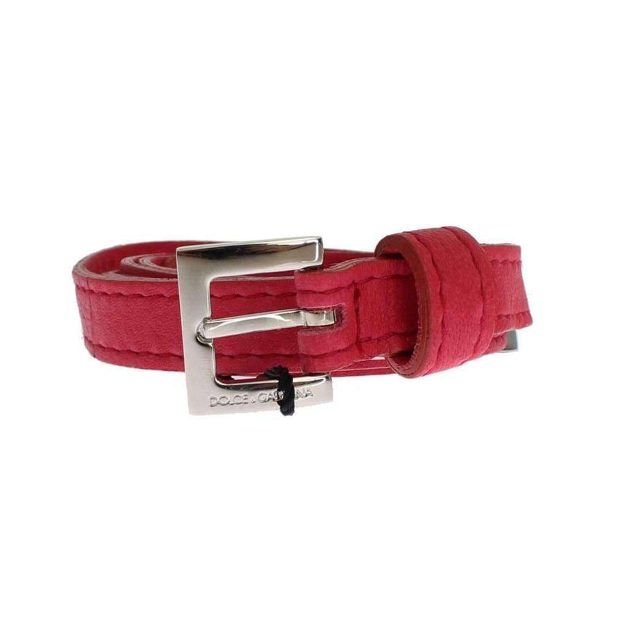 Dolce & Gabbana Pink leather belt - Women - Accessories - Belts - Dolce & Gabbana | Gethuda Fashion