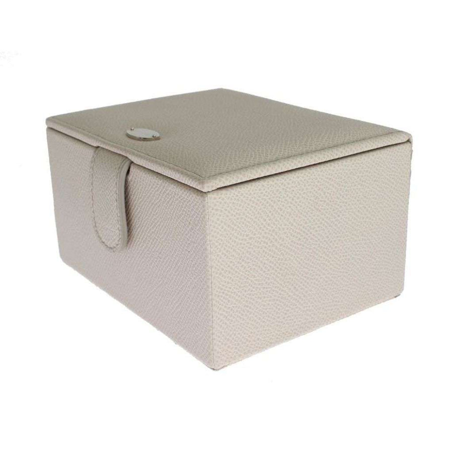Dolce & Gabbana White Leather Unisex Two Watch Case Cover Box Storage - Women - Bags - Dolce & Gabbana | Gethuda Fashion