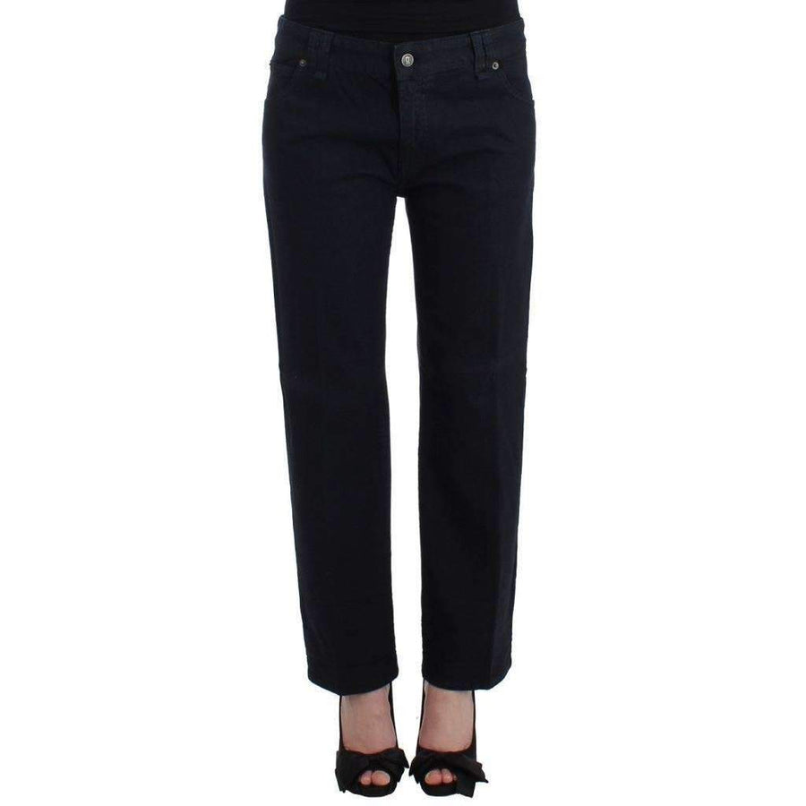 Galliano Darkblue cropped jeans