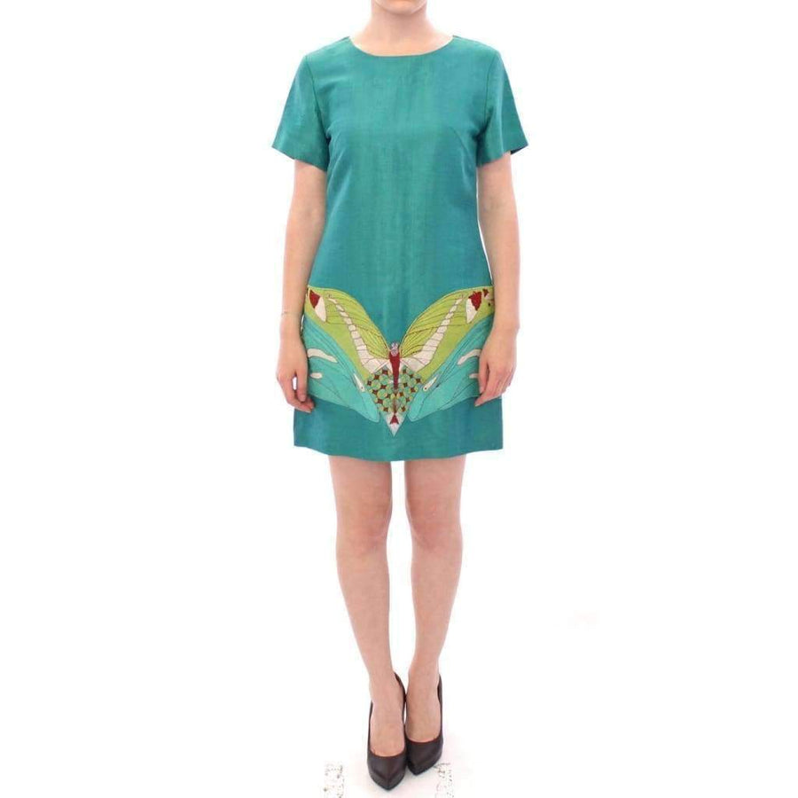 Green Above Knee Mini Dress - Women - Apparel - Dresses - Casual - Lanre Da Silva Ajayi | Gethuda Fashion