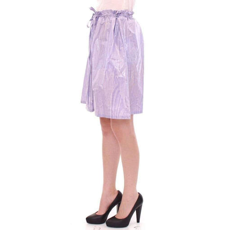 Purple Adjustable Waist Strap A-Line One Size Skirt - Women - Apparel - Skirts - Knee Length - Licia Florio | Gethuda Fashion
