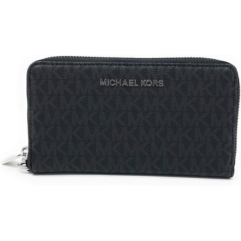 Michael Kors Jet Set Travel Large Flat Multifunction Phone Case Wristlet - Women - Bags - Clutches Evening - Michael Kors | Gethuda Fashion